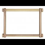"""Пяльцы-рамка деревянная с пластиковыми клипсами 25х32см """"Luca-S"""""""
