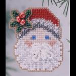 """Набор для вышивания бисером - брошь """"Санта с рождественской омелой"""" """"Mill Hill"""" (США)"""