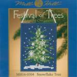 """Набор для вышивания бисером """"Снежное дерево"""" """"Mill Hill"""" (США)"""