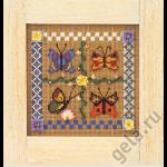 """Набор для вышивания бисером """"Весенние бабочки"""" """"Mill Hill"""" (США)"""