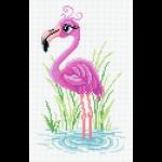 """Канва с рисунком """"Мечтательный фламинго"""" """"МП Студия"""""""