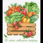 """Канва с рисунком """"В моем любимом огороде"""" """"МП Студия"""""""