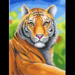 "Канва с рисунком ""Царственный тигр"" ""МП Студия"""