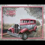 """Ткань с рисунком для вышивания бисером """"Ford"""" """"МП Студия"""""""