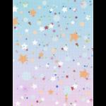"Канва Аида 18 с фоновым рисунком КД-095 21х30см ""МП Студия"""
