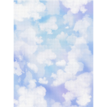 "Канва Аида 18 с фоновым рисунком КД-102 30х40см ""МП Студия"""
