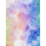 "Канва Аида 14 с фоновым рисунком КД14-112 30х40см ""МП Студия"""