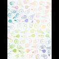 "Канва Аида 18 с фоновым рисунком КД-115 21х30см ""МП Студия"""