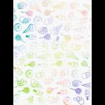 "Канва Аида 18 с фоновым рисунком КД-116 30х40см ""МП Студия"""