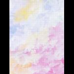 "Канва Аида 18 с фоновым рисунком КД-125 21х30см ""МП Студия"""