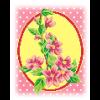 """Набор для вышивания """"Розовые цветы"""" """"МП Студия"""""""