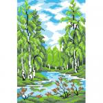 """Набор для вышивания """"Лето в лесу"""" """"МП Студия"""""""