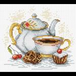 """Набор для вышивания """"Утренний чай"""" """"МП Студия"""""""