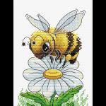 """Набор для вышивания """"Трудолюбивая пчелка"""" """"МП Студия"""""""