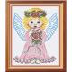 """Набор для вышивания """"Ангел в розовом"""" """"МП Студия"""""""