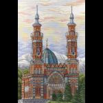 """Набор для вышивания """"Владикавказская соборная мечеть"""" """"МП Студия"""""""