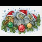 """Набор для вышивания """"Рождественские помощники"""" """"МП Студия"""""""