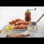 """Набор для вышивания """"Французский завтрак"""" """"МП Студия"""""""