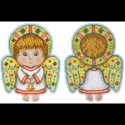 """Набор для вышивания """"Ангел-хранитель"""" """"МП Студия"""""""