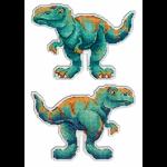 """Набор для вышивания """"Динозавры. Тираннозавр"""" """"МП Студия"""""""