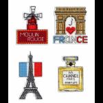 """Набор для вышивания """"Магниты. Франция"""" """"МП Студия"""""""