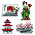 """Набор для вышивания """"Магниты. Япония"""" """"МП Студия"""""""