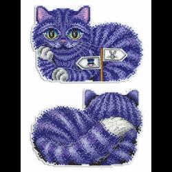 """Набор для вышивания """"Чеширский кот"""" """"МП Студия"""""""