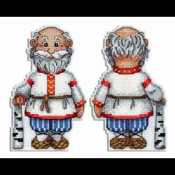 """Набор для вышивания """"Дедушка"""" """"МП Студия"""""""