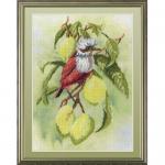 """Набор для вышивания """"Птичка на ветке лимона"""" """"МП Студия"""""""