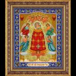 """Набор для вышивания бисером """"Пресвятая Богородица Прибавление ума"""" """"Паутинка"""""""