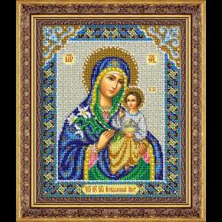 """Набор для вышивания бисером """"Пресвятая Богородица Неувядаемый цвет"""" """"Паутинка"""""""