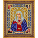 """Набор для вышивания бисером """"Пресвятая Богородица Умиление"""" """"Паутинка"""""""