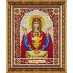 """Набор для вышивания бисером """"Пресвятая Богородица Неупиваемая Чаша"""" """"Паутинка"""""""
