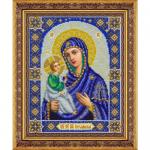 """Набор для вышивания бисером """"Пресвятая Богородица Иерусалимская"""" """"Паутинка"""""""