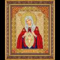 """Набор для вышивания бисером """"Пр. Богородица В родах помощница"""" """"Паутинка"""""""