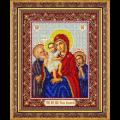 """Набор для вышивания бисером """"Пр. Богородица Трех радостей (Святое семейство)"""" """"Паутинка"""""""