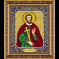 """Набор для вышивания бисером """"Св. Великомученик Иоанн Сочавский - покровитель торговли"""" """"Паутинка"""""""