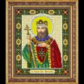 """Набор для вышивания бисером """"Св. Равноап. царь Константин"""" """"Паутинка"""""""