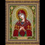 """Набор для вышивания бисером """"Пр. Богородица Умягчение злых сердец"""" """"Паутинка"""""""