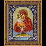 """Набор для вышивания бисером """"Пр. Богородица Почаевская"""" """"Паутинка"""""""