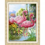 """Набор для вышивания бисером """"Фламинго"""" """"Паутинка"""""""
