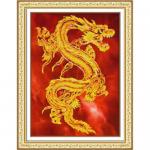 """Набор для вышивания бисером """"Восточный дракон"""" """"Паутинка"""""""