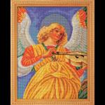 """Набор для вышивания бисером """"Музицирующий ангел. Секондо"""" """"Радуга бисера"""""""