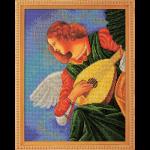 """Набор для вышивания бисером """"Музицирующий ангел. Терцо"""" """"Радуга бисера"""""""