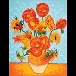 "Канва с рисунком для вышивания гобелена ""Подсолнухи. Ван Гог"" 40х50см ""Grafitec"" (Греция)"