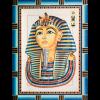 "Канва с рисунком для вышивания гобелена ""Тутанхамон"" 40х50см ""Grafitec"" (Греция)"