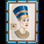 "Канва с рисунком для вышивания гобелена ""Нефертити"" 40х50см ""Grafitec"" (Греция)"