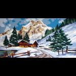 "Канва с рисунком для вышивания гобелена ""Зима"" 50х60см ""Grafitec"" (Греция)"