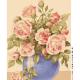 "Канва с рисунком для вышивания гобелена ""Букет роз"" 50х60см ""Grafitec"" (Греция)"