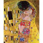 """Канва с рисунком для вышивания гобелена """"Поцелуй. Климт"""" 60х80см """"Grafitec"""" (Греция)"""